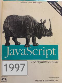 1997 cover of 'The Definitive Guide'