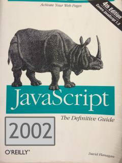 2002 cover of 'The Definitive Guide'